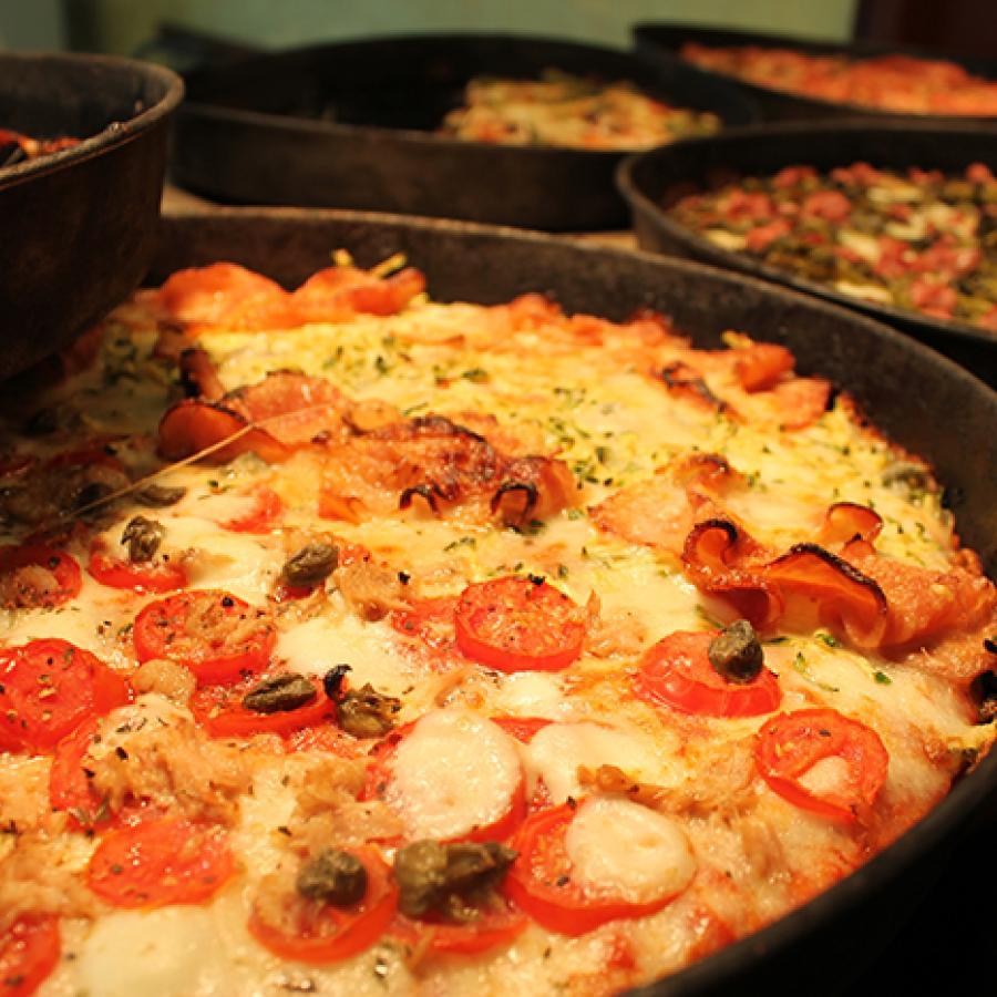 Pizza asporto Ome